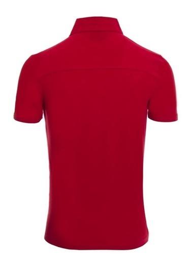Panthzer  Toluca Erkek  Polo T-Shirt Kırmızı